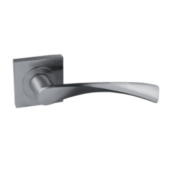 Roseta Elora aluminio cuadrada