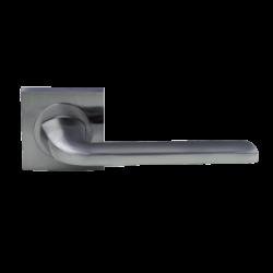Roseta Meissa aluminio cuadrada