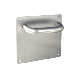 Manillon placa 17*17 inox